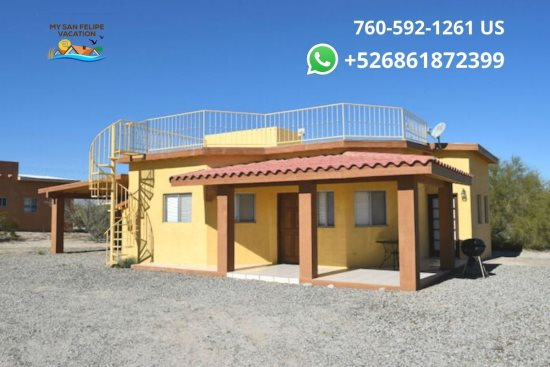 Casa Sunrise San Felipe Rental -  Front View
