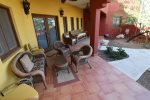 San Felipe vacation rental house - casa roja: Front porch