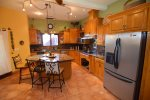 San Felipe vacation rental house - casa roja: Kitchen modern appliance