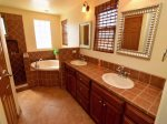 San Felipe, El Dorado Ranch rental - master bathroom