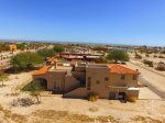 San Felipe, El Dorado Ranch rental - side sky view of home
