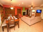 San Felipe, El Dorado Ranch rental - dining and living room area