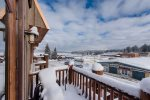 Watch Winter Carnival parade and fireworks from your balcony.