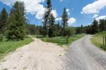Back country access for horses, hikers and bicyclists.  For motorized vehicles-trailer back to Boulder Creek Rd.