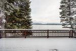 Payette Lake - view from living room deck.