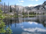 Bring your fishin` poles.  Upper Payetter Lake is a fifteen minutes drive.