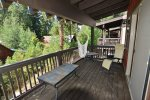 Access balcony from Master Bdrm. and lounge on the west facing deck.