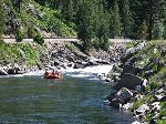 Don`t forget your Kayaks.  Whitewater rafting in Riggins.