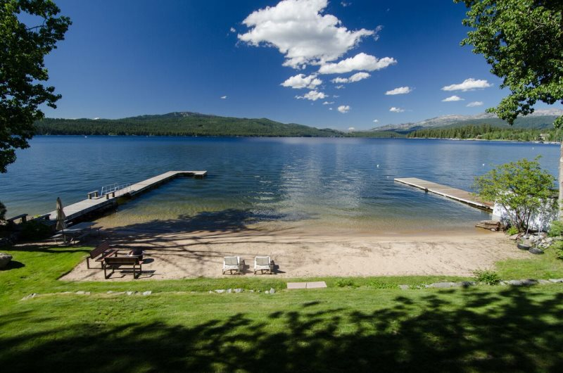 Downtown McCall Lakefront Estate - Private Dock, BBQ, Fire
