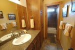 Downstairs guest bathroom