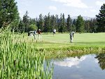 On the McCall Municipal Golf Course