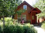 The charming, Red Fox Lodge in McCall, Idaho