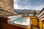 Vail Village with Mountain Views