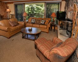2 bedroom in the heart of Vail Village overlooking the Gore Creek