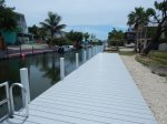 Canal out to open water - new 60` dock