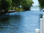 Canal out to open water in Cudjoe Bay