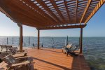 Pergola at Corner of Dock - the Best Place for Sunsets