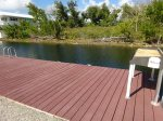 Dock with Cleaning Table