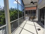 More of Screened Balcony on Main Floor