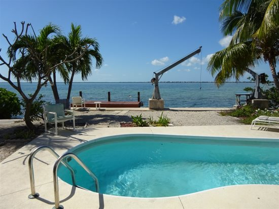 This is THE VIEW from this Cudjoe Key Home