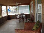 Screened patio to eat outdoors or enjoy your morning coffee