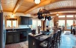 Palisade Pines:  Kitchen Island with View to Dining Room