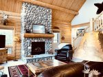 Palisade Pines:  Let`s Cozy up by this Amazing Gas Fireplace