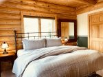 Palisade Pines:  Main Level Master Bedroom with King