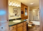 Palisade Pines:  Master Bathroom - Jack & Jill Shared with Main Level