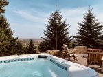 Palisade Pines:  Hot Tub with Views