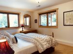 Palisade Pines:  Lower Level Bedroom with Queen