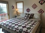 Beartooth Montana Getaway - Upstairs Bedroom with King Bed