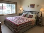 Beartooth Montana Getaway - Main Level Bedroom with King Bed