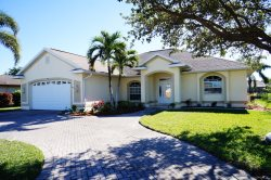 Ronda 1044 - SE Cape Coral Deluxe Electric Heated Pool Home, walking distance to Cape Coral Shopping and Entertainment, Brand New Furnished, right off Del Prado Blvd. with Boat Dock and more....