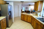 Kitchen and stainless steal appliances
