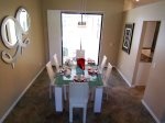 Formal Dining room with access to Pool area