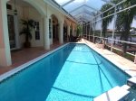 Electric heated pool/spa