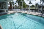Electric heated pool