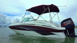 BOAT NAUTIC STAR Deck Boat DC230, Suzuki 200 HP 4 Stroke Engine