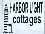 Sign for the Harbor Light Cottages