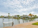 Beautiful canal views from the private fishing dock