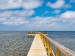 Relax in the private swimming pool overlooking Copano Bay