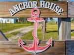 Captain Dave`s Anchor House sign