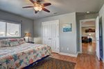 Master Bedroom is located just off the living area