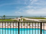 Relax in the hot tub overlooking Aransas Bay