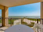 Views from the patio overlooking Aransas Bay