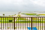 Breath taking views of Aransas Bay from the 4th floor balcony