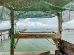 200 ft private lighted fishing pier