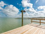 100 foot private lighted fishing pier