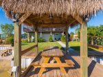 Palapa and picnic table